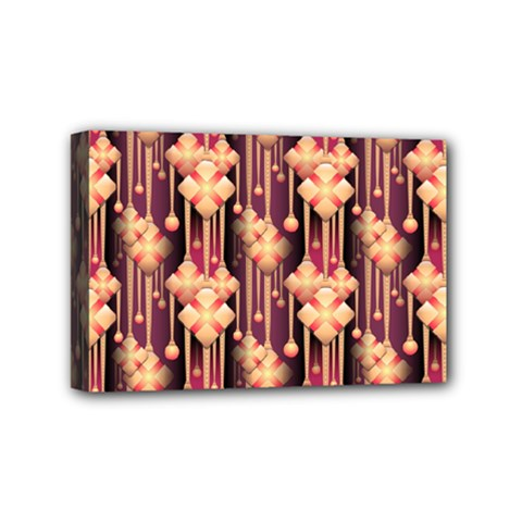 Seamless Pattern Patterns Mini Canvas 6  X 4
