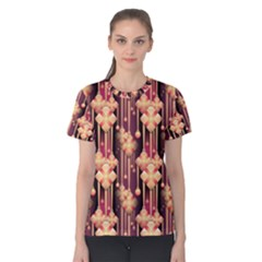Seamless Pattern Patterns Women s Cotton Tee