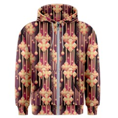 Seamless Pattern Patterns Men s Zipper Hoodie