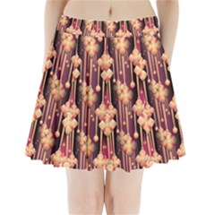 Seamless Pattern Patterns Pleated Mini Skirt