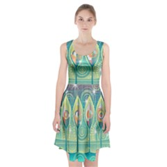 Background Landscape Surreal Racerback Midi Dress