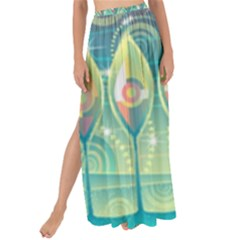 Background Landscape Surreal Maxi Chiffon Tie Up Sarong