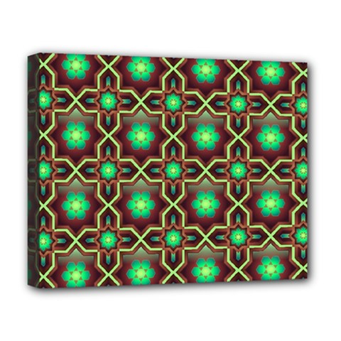 Pattern Background Bright Brown Deluxe Canvas 20  X 16