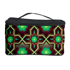 Pattern Background Bright Brown Cosmetic Storage Case
