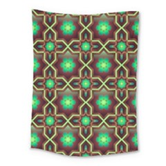 Pattern Background Bright Brown Medium Tapestry