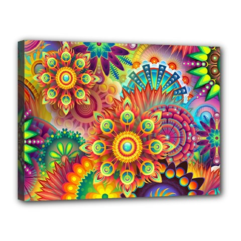 Colorful Abstract Background Colorful Canvas 16  X 12