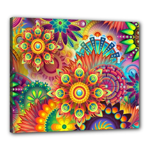 Colorful Abstract Background Colorful Canvas 24  X 20