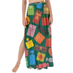 Presents Gifts Background Colorful Maxi Chiffon Tie Up Sarong
