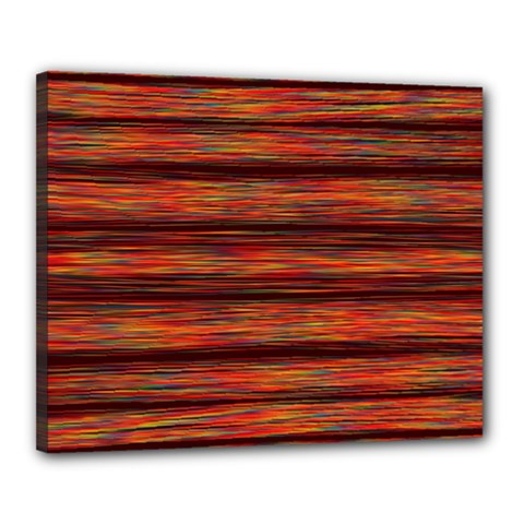 Colorful Abstract Background Strands Canvas 20  X 16