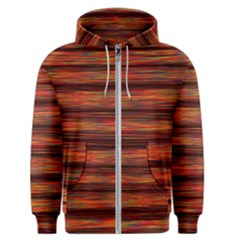 Colorful Abstract Background Strands Men s Zipper Hoodie