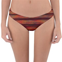 Colorful Abstract Background Strands Reversible Hipster Bikini Bottoms
