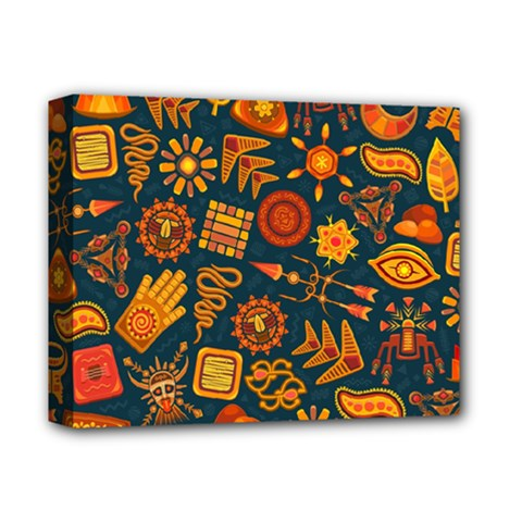 Pattern Background Ethnic Tribal Deluxe Canvas 14  X 11