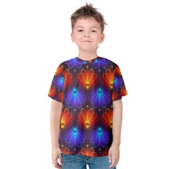 Background Colorful Abstract Kids  Cotton Tee