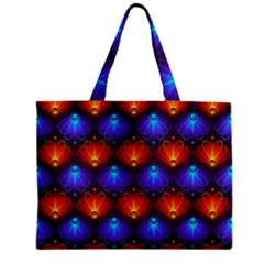 Background Colorful Abstract Zipper Mini Tote Bag