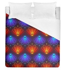 Background Colorful Abstract Duvet Cover (queen Size)