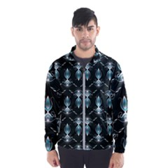 Seamless Pattern Background Wind Breaker (men)