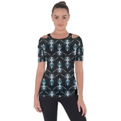 Seamless Pattern Background Short Sleeve Top