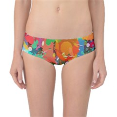 Background Colorful Abstract Classic Bikini Bottoms