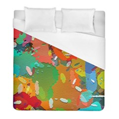 Background Colorful Abstract Duvet Cover (full/ Double Size)