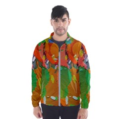 Background Colorful Abstract Wind Breaker (men)