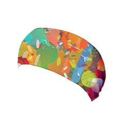 Background Colorful Abstract Yoga Headband