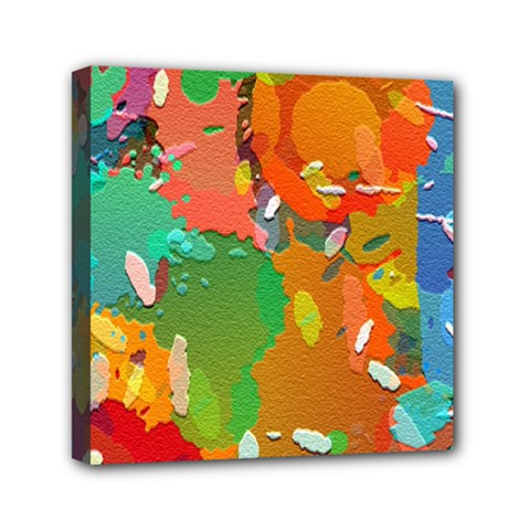 Background Colorful Abstract Canvas Travel Bag by Nexatart