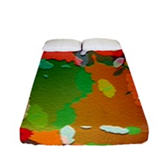 Background Colorful Abstract Fitted Sheet (full/ Double Size)