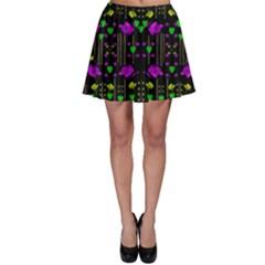 Pure Roses In The Rose Garden Of Love Skater Skirt by pepitasart