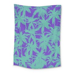 Electric Palm Tree Medium Tapestry by jumpercat