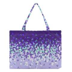 Purple Disintegrate Medium Tote Bag by jumpercat