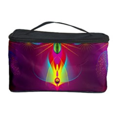 Abstract Bright Colorful Background Cosmetic Storage Case