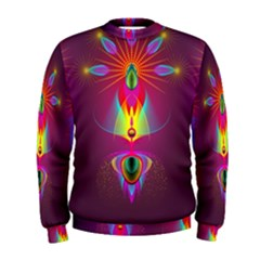Abstract Bright Colorful Background Men s Sweatshirt