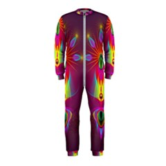 Abstract Bright Colorful Background Onepiece Jumpsuit (kids) by Nexatart