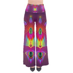 Abstract Bright Colorful Background Pants