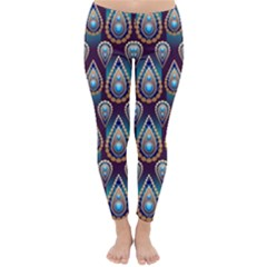 Seamless Pattern Pattern Classic Winter Leggings