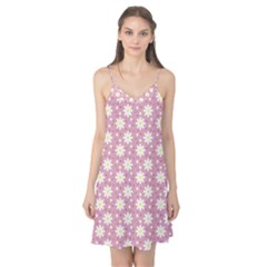 Daisy Dots Pink Camis Nightgown by snowwhitegirl