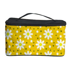 Daisy Dots Yellow Cosmetic Storage Case