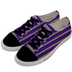 Color Line 1 Men s Low Top Canvas Sneakers by jumpercat