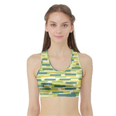 Fast Capsules 2 Sports Bra With Border by jumpercat