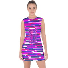 Fast Capsules 6 Lace Up Front Bodycon Dress by jumpercat