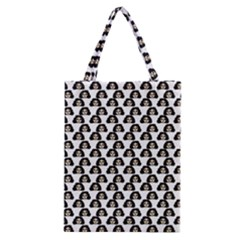 Angry Girl Pattern Classic Tote Bag