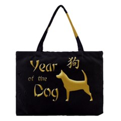 Year Of The Dog   Chinese New Year Medium Tote Bag by Valentinaart