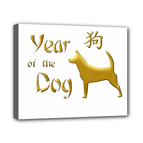 Year Of The Dog   Chinese New Year Canvas 10  X 8  by Valentinaart