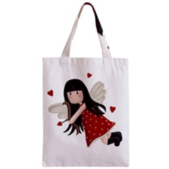 Cupid Girl Classic Tote Bag by Valentinaart