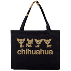Chihuahua Mini Tote Bag by Valentinaart