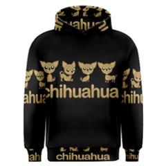 Chihuahua Men s Overhead Hoodie