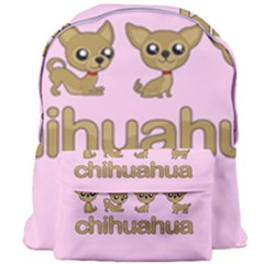 Chihuahua Giant Full Print Backpack by Valentinaart