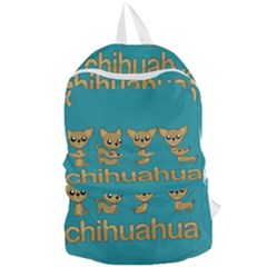 Chihuahua Foldable Lightweight Backpack by Valentinaart