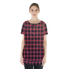 Coke Tartan Skirt Hem Sports Top by jumpercat