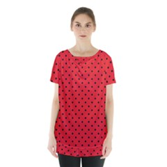 Ladybug Skirt Hem Sports Top by jumpercat